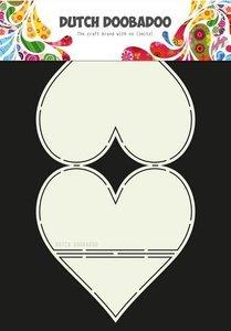 Card art kaarten ezel hart A4 per stuk