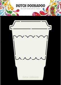 Card art koffiemok A5 per stuk
