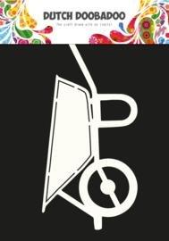 Card art kruiwagen A5 per stuk