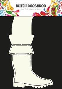Card art Laarzen A4 per stuk