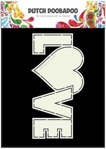 Card art Love A5 per stuk