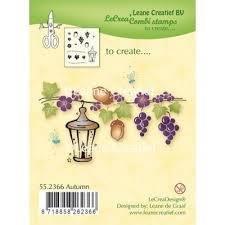 Clear stamp Autumn   per stuk