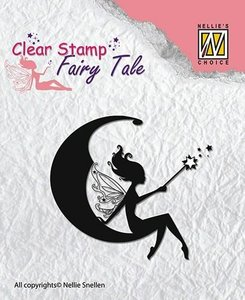 Clear stamp Fairy Tale nr 2 p/st