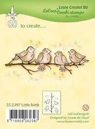 Clear stamp Little birds 55.2397 p/st