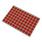 Stickers rood 13mm p/2464st op vel