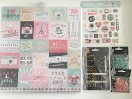 Totaalset camera Stickers papier clips  per set