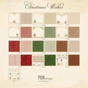 Totaalset Christmas Wishes + CARDSTOCK 30.5 x 30.5 cm inhoud 26 vel