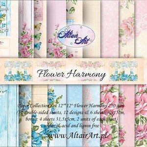 Paper pad Perfect Harmony 15x15cm p/24vel
