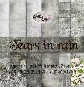Paper pad Tears in Rain 15x15cm p/24vel