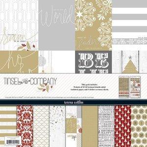 Paper pad 30.5x30.5cm Tinsel & Company p/6vel