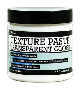Ranger Ranger Texture Paste Transparent Gloss  per stuk transparant