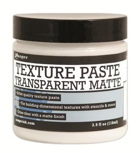 Ranger Ranger Texture Paste Transparent Matte  per stuk transparant