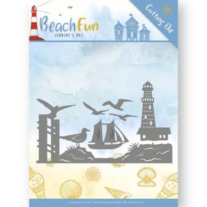 Stans Beach Fun Lighthouse Border p/st