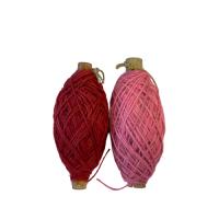 Jute roze p/50mtr 1mm flaxkoord