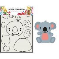 Card Art Built up Koala A5