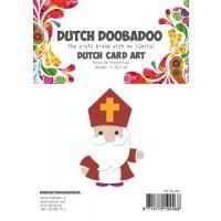 Card Art Built up Sinterklaas A5