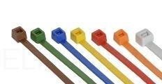 Kabelbinders 140 mm inhoud 100 stuks oranje