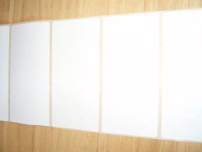 Barcode etiketten thermisch eco  102 x 180 mm inhoud 210 stuks wit