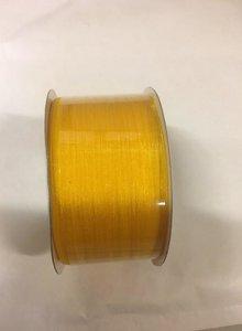 Lint organza 3mm p/50m geel