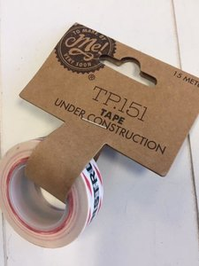 "Masking Tape ""Under Construction"" p/1.5m"