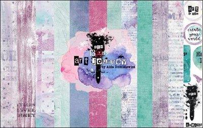 Paper pad Aida Domisiewicz Art Journey 30.5x30.5cm p/6vel