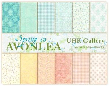 Paper pad Avonlea in spring 30.5x30.5cm p/6vel