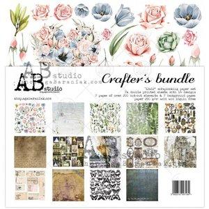 Paper pad Crafters bundle 30.5x30.5cm p/7vel
