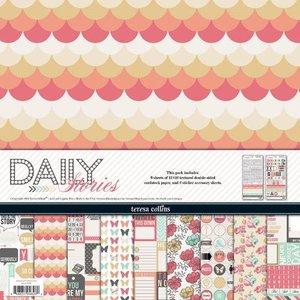 Paper pad 30.5x30.5cm Daily Stories p/9vel