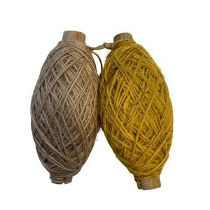 Jute naturel p/50mtr 1mm flaxkoord