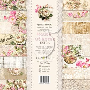 Lemoncraft - Paper Collection Set 30,5x30,5cm - House of Roses EXTRA