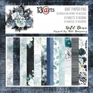 Paper pad Aida Dom Until Dawn 15x15cm p/24vel