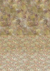 Achtergrond papier Autumn Moments Mushrooms A4 per vel
