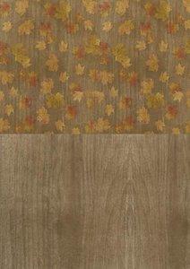 Achtergrond papier Autumn Moments Leaves A4 per vel
