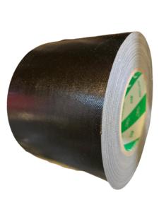DUCT tape zwart 100mm p/50mtr nichiban