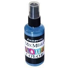 Aquacolor Spray Azur blauw 60ml p/st