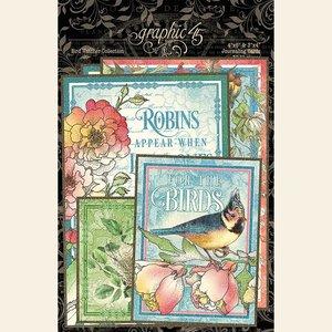 Ephemera & Journaling Cards Bird Watcher p/32st