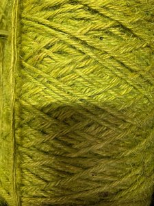 Jute limegroen p/470mtr 3.5mm flaxkoord