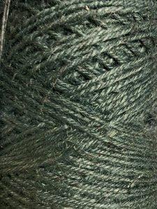 Jute donkergroen p/470mtr 3.5mm flaxkoord