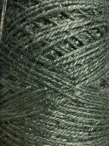 Jute donkergroen p/25mtr 3.5mm flaxkoord