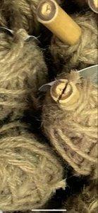 Jute middenbruin p/25mtr 3.5mm flaxkoord