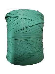 Raffia zeeblauw bol p/200mtr