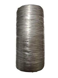 Raffia zilver bol p/200mtr