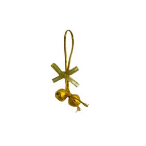 Belletjes goud 1cm p/25st rondje